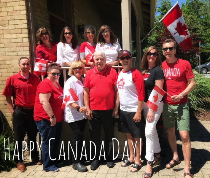 R. W. Dyer Realty Team Canada Day Photo